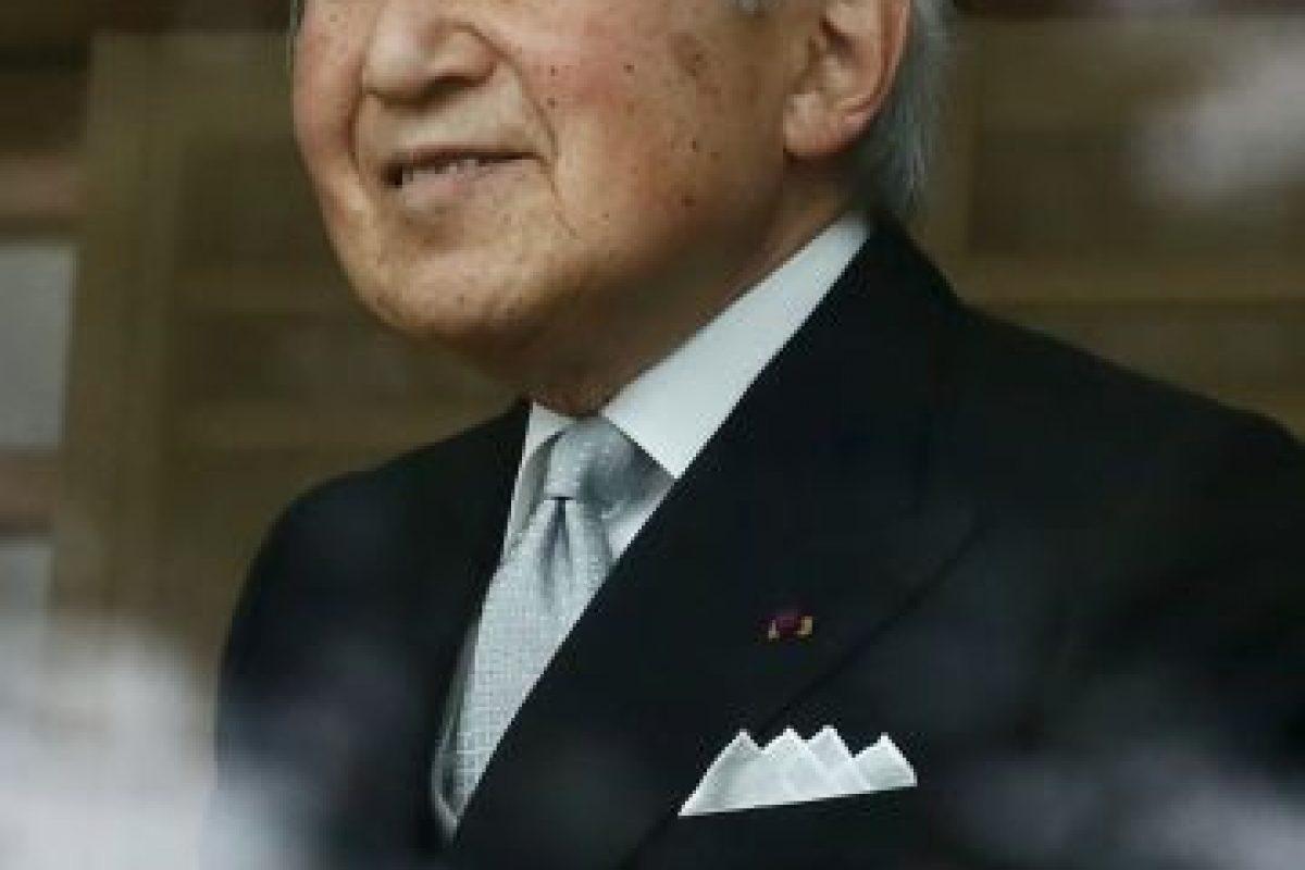 El Emperador Akihito tiene 81 años de edad y es el 125º emperador japonés Foto:Getty Images. Imagen Por: