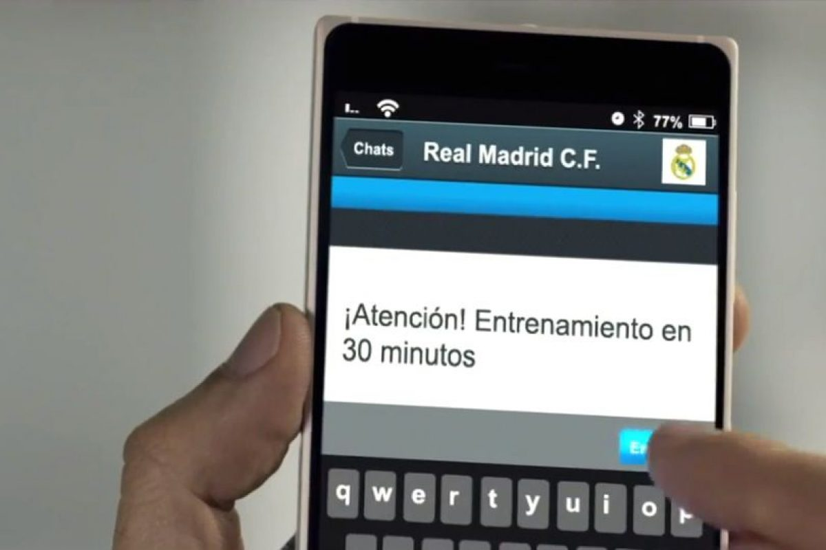 El mensaje de Ancelotti a sus futbolistas. Foto:TURISMOMADRID. Imagen Por: