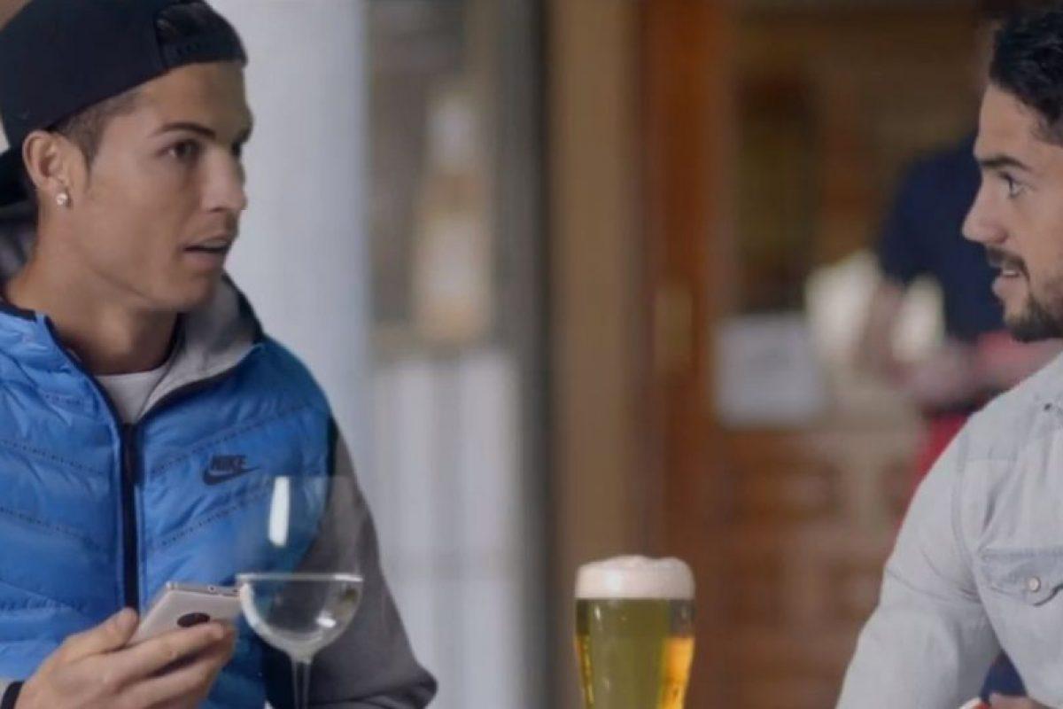 La reacción de Cristiano Ronaldo al enterarse del entrenamiento. Foto:TURISMOMADRID. Imagen Por: