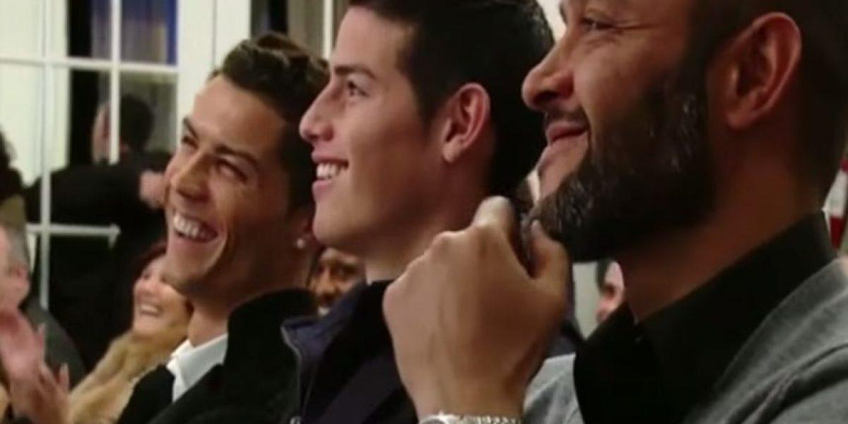 VIDEO: Así reaccionó Cristiano Ronaldo a burla de su representante