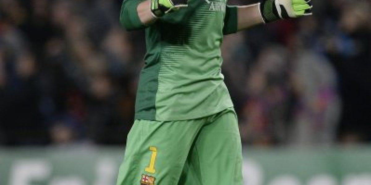 ¿Bravo preocupado? Históricos del Barça alaban a Ter Stegen y lo comparan con Neuer