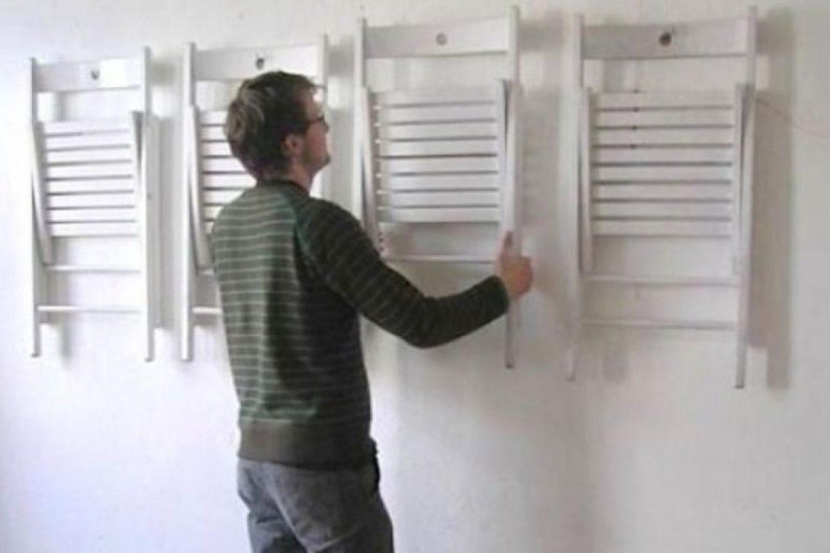 Si no tienen armario… Foto:There I Fixed. Imagen Por: