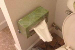 Papel higiénico. Foto:There I Fixed. Imagen Por: