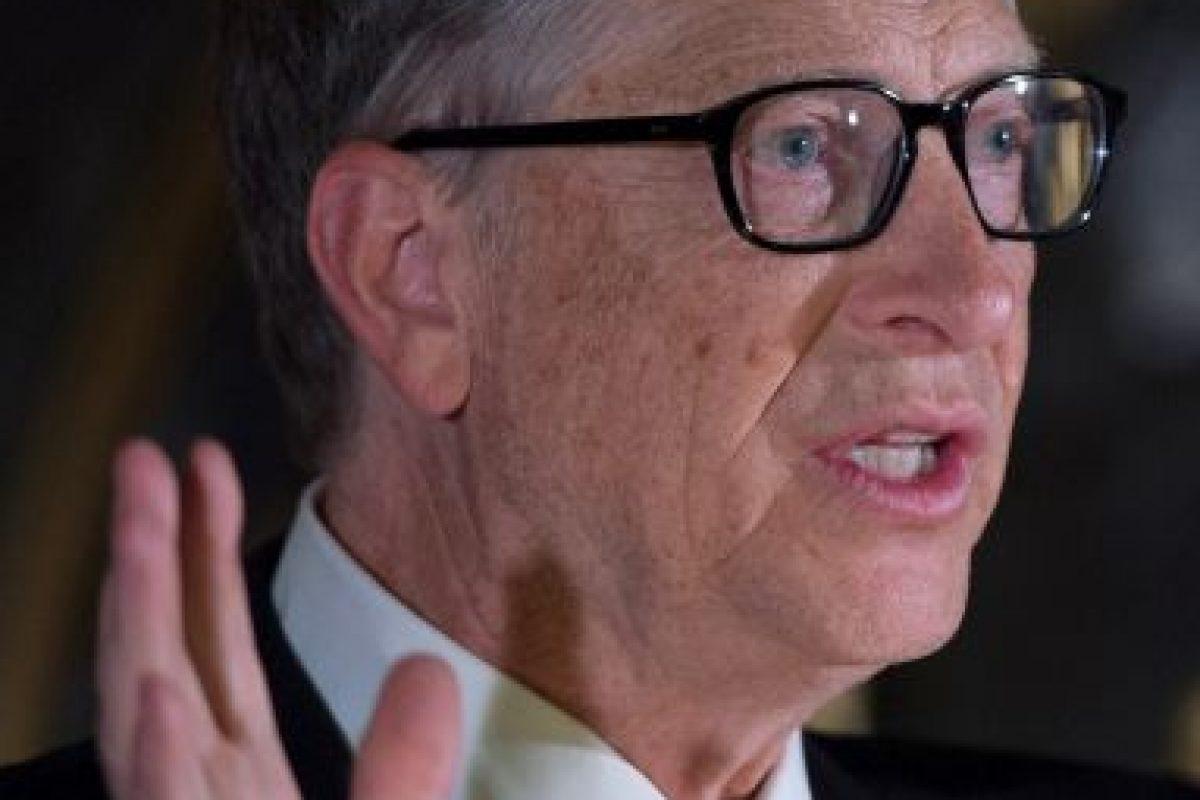 Bill Gates, fundador de Microsoft Foto:Getty Images. Imagen Por: