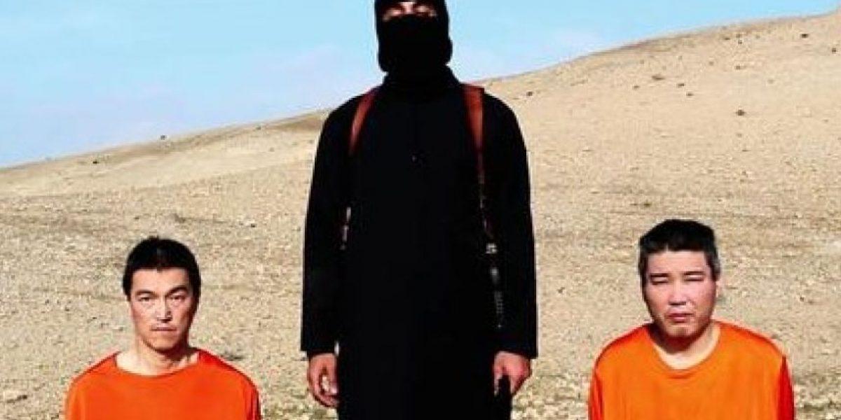 Estado Islámico publica una fotografía con uno de los dos japoneses rehenes decapitado