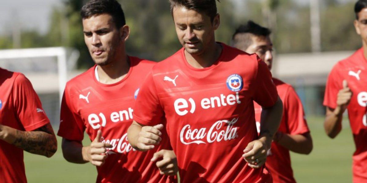 Fotos: El entrenamiento de la selección chilena de este sábado