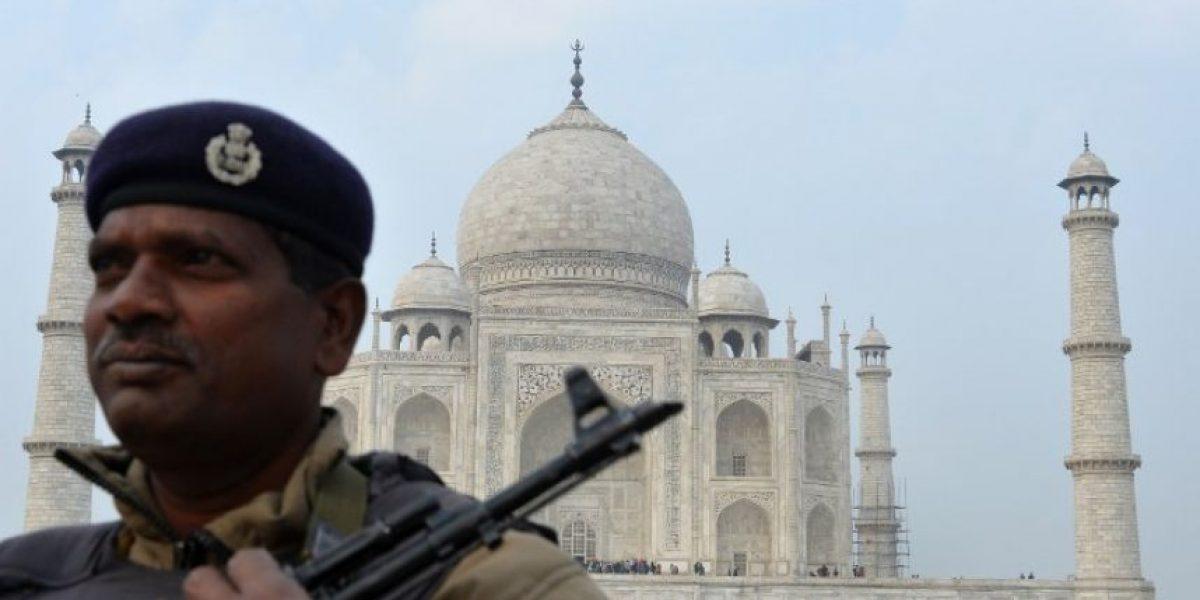 FOTOS: Todo listo en India para recibir a Barack Obama