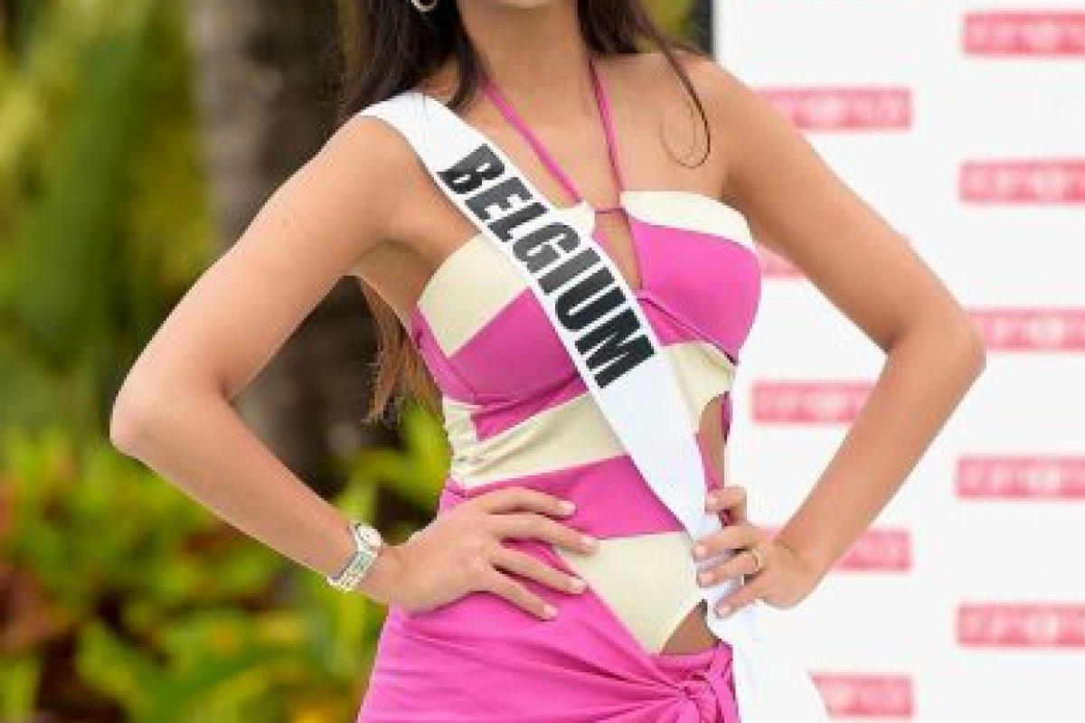 Miss Bélgica – Anissa Blondin Foto:Getty Images. Imagen Por: