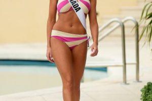 Miss Canadá – Chanel Beckenlehner Foto:Getty Images. Imagen Por: