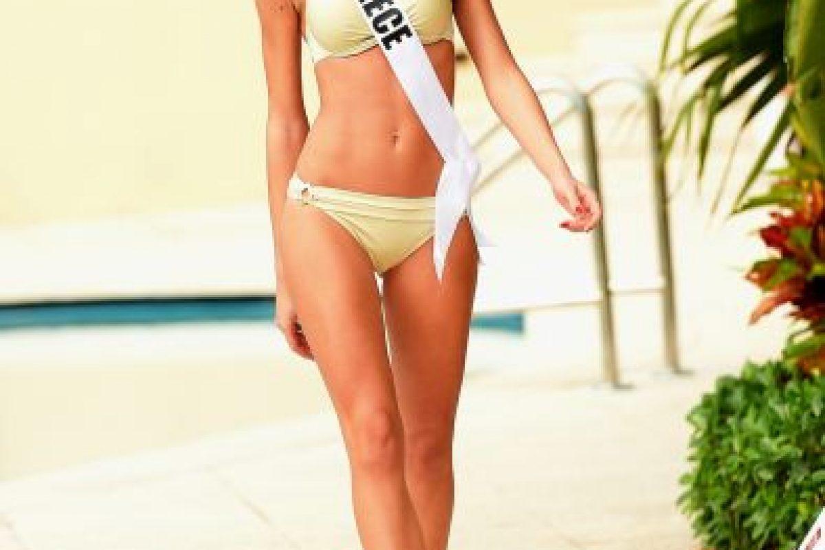 Miss Grecia – Ismini Dafopulou Foto:Getty Images. Imagen Por: