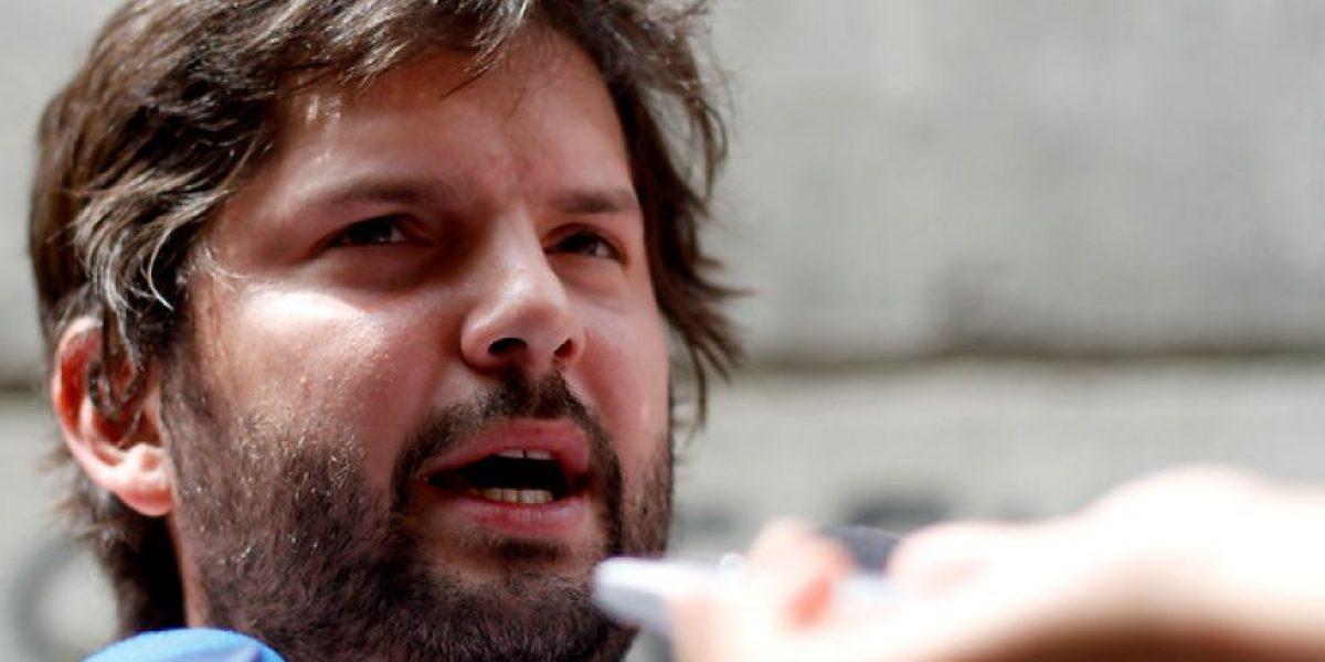 Gabriel Boric llama a los estudiantes a movilizarse este 2015 para defender las reformas educacionales