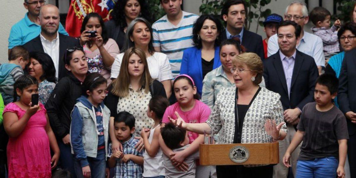 Presidenta Bachelet lanzó