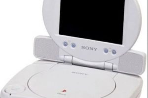 PlayStation One Slim con pantalla Foto: Sony. Imagen Por: