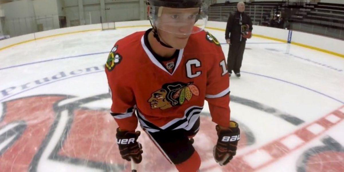FOTOS: ¡Impresionante! El hockey sobre hielo como nunca lo han visto