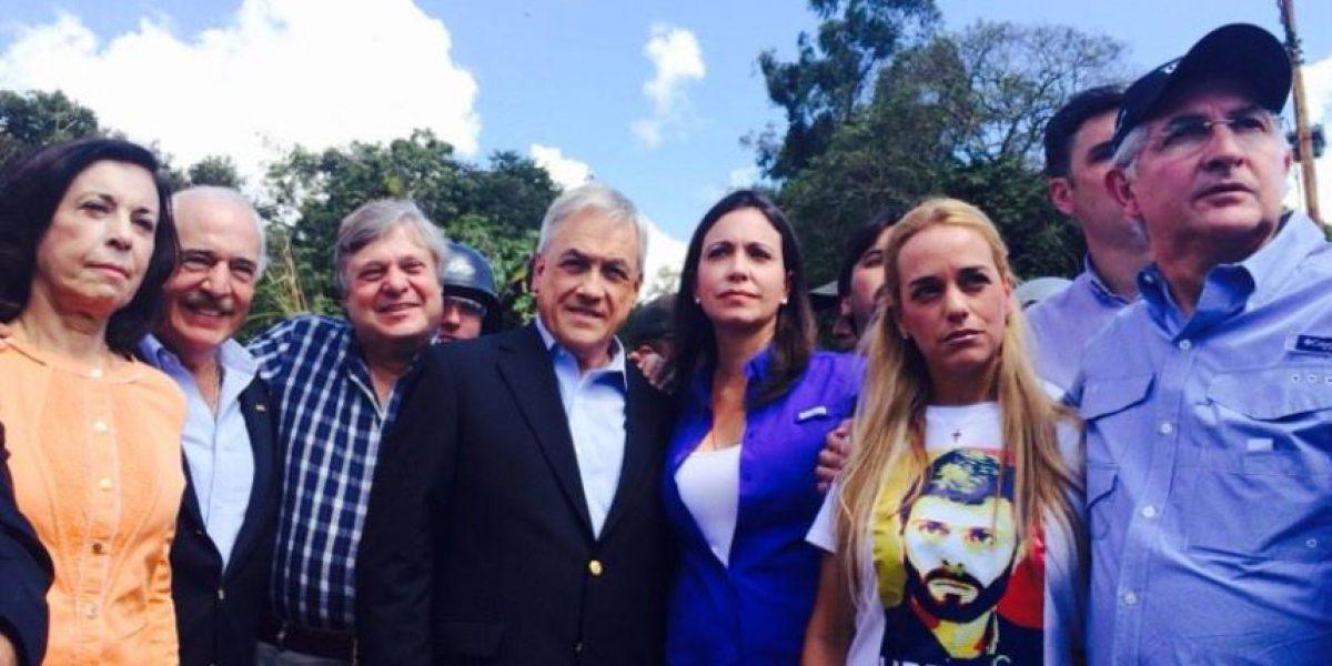 Impiden visita de Piñera al líder opositor Leopoldo López en cárcel venezolana