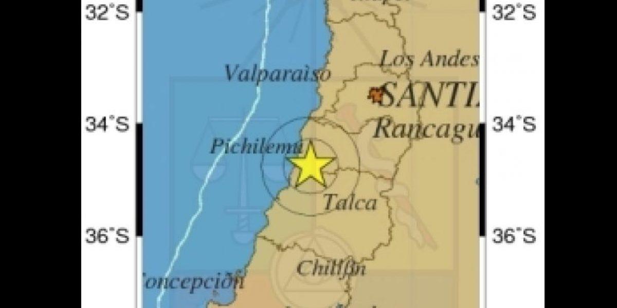 Temblor de 5.2º Richter despertó desde santiaguinos hasta talquinos