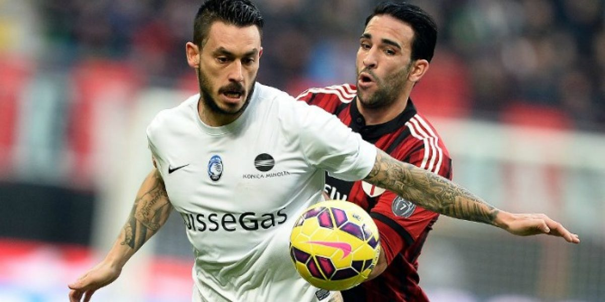 Pinilla y Carmona siguen a los tumbos con Atalanta en la liga italiana
