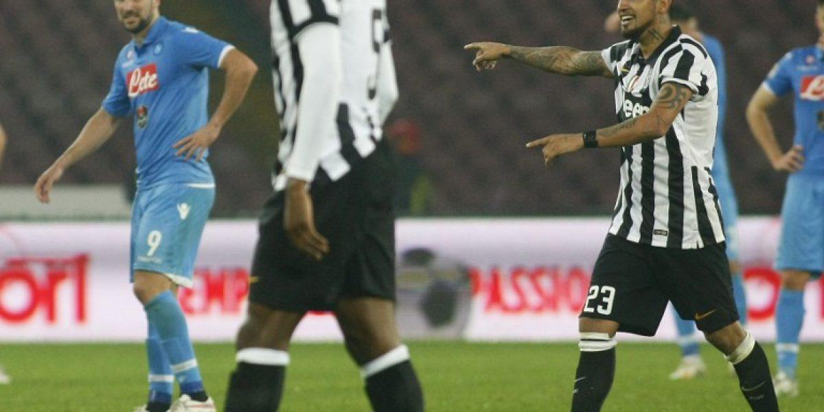 Quería seguir: Arturo Vidal se enojó tras ser reemplazado