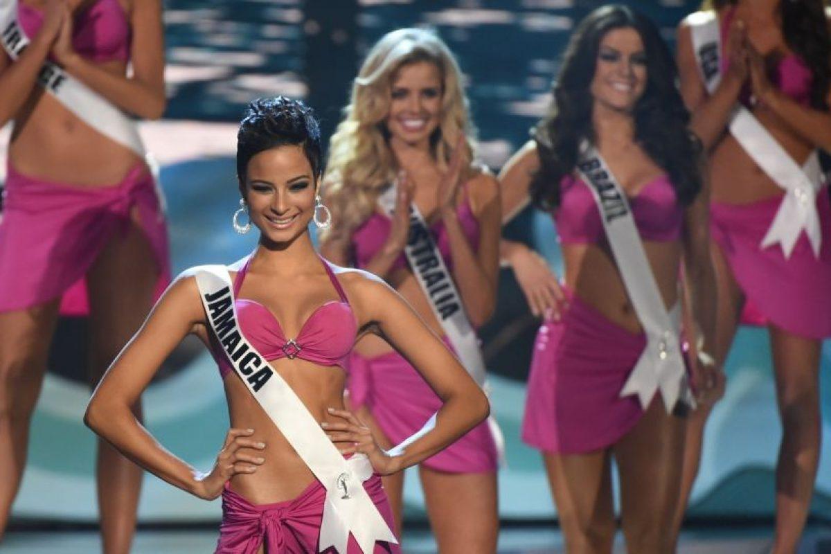 Kaci Fenell, Miss Jamaica Foto:AFP. Imagen Por: