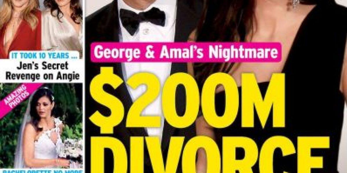4 meses después, ¿George Clooney se divorcia?