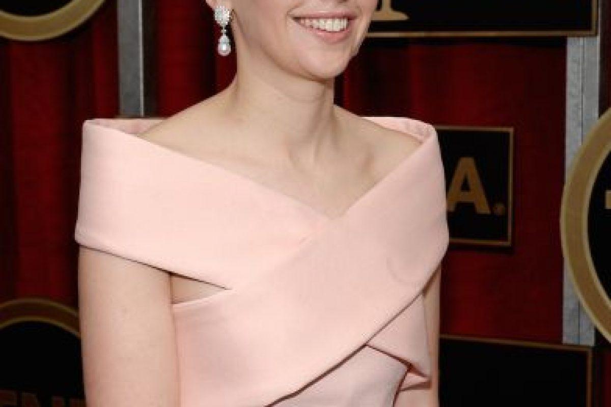 Las famosas en la alfombra roja de los SAG AwardsFelicity Jones Foto:Getty Images. Imagen Por: