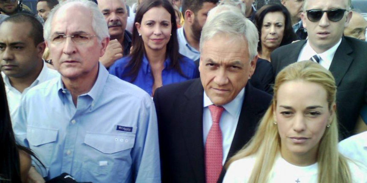 Piñera pide a comunidad internacional estar