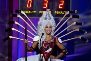 Chanel Beckenlehner, Miss Canadá Foto:AP. Imagen Por: