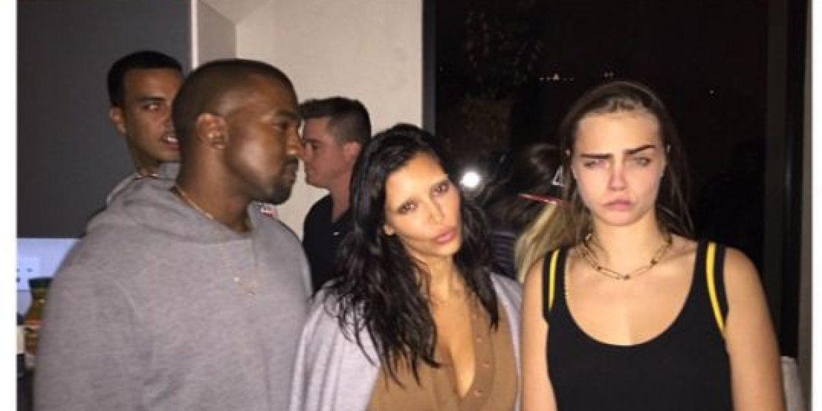 FOTO: ¿Kim Kardashian es la nueva BFF de Cara Delevingne?