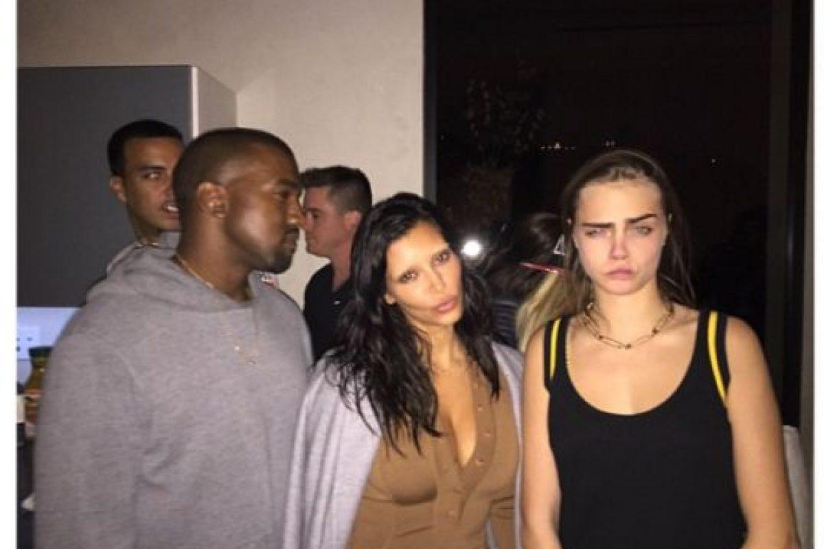 Kim Kardashian se confesó con Cara Delevingne en una divertida entrevista. Foto:Instagram/@kimkardashian. Imagen Por: