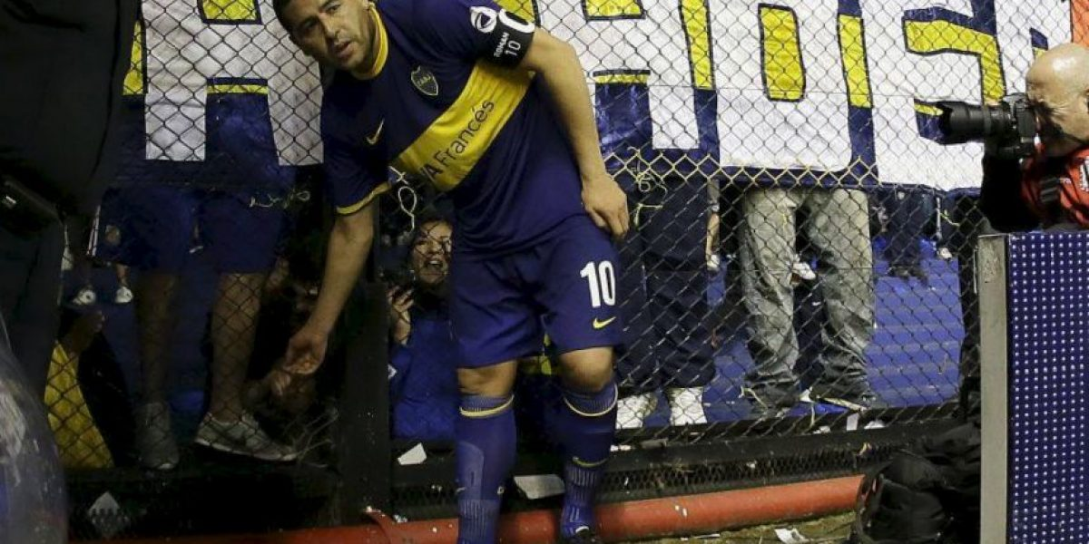 Cracks del fútbol mundial se despiden de Juan Román Riquelme