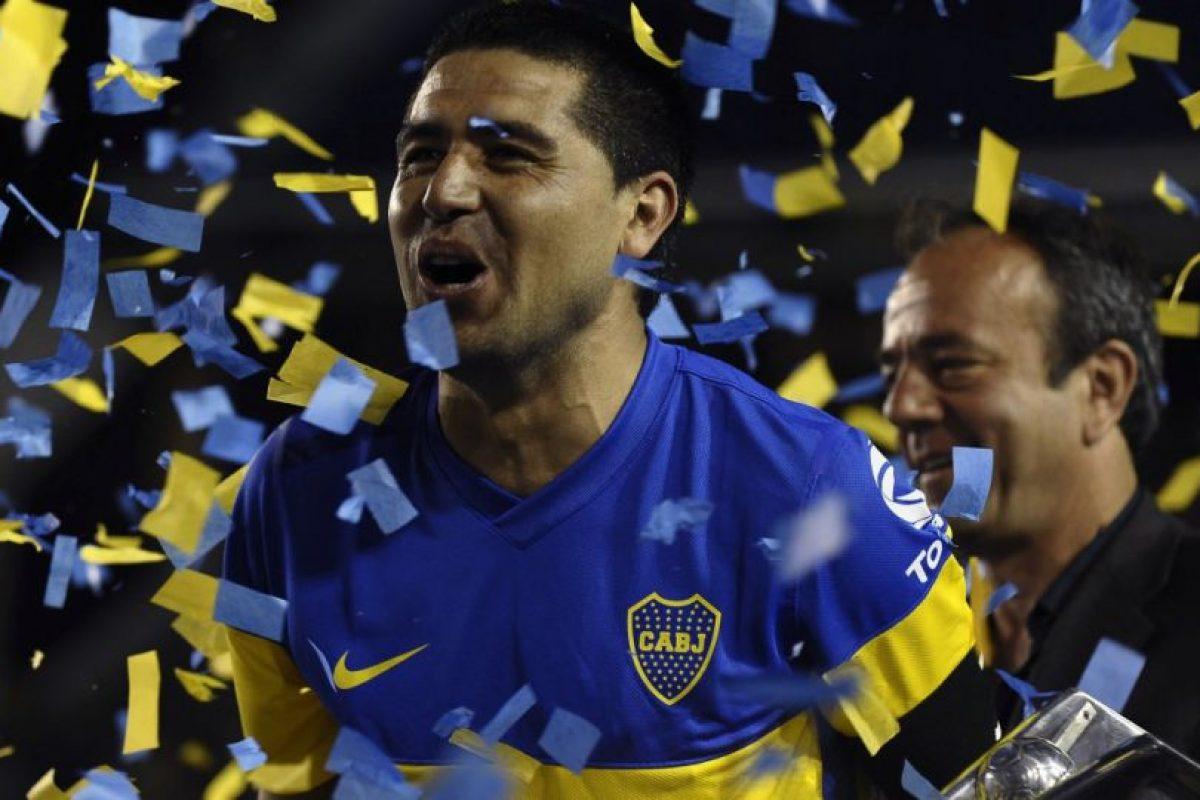 Ganó tres Libertadores con los xeneizes Foto:Facebook: Juan Roman Riquelme. Imagen Por: