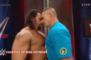Se encararon Foto:WWE. Imagen Por:
