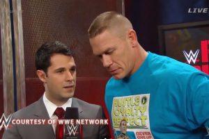Cena fue entrevistado por WWE Network Foto:WWE. Imagen Por: