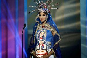 Kimberly Castillo, Miss República Dominicana Foto:AP. Imagen Por: