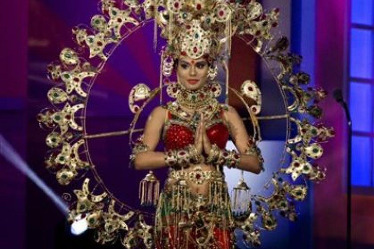 Noyonita Lodh, Miss Inda Foto:AP. Imagen Por: