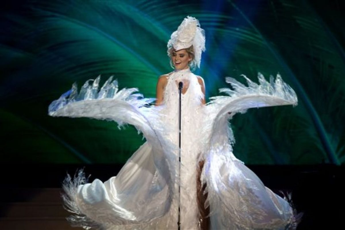 Bea Toivonen, Miss Finlandia Foto:AP. Imagen Por: