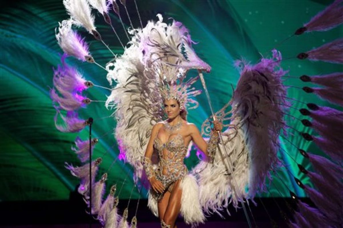 Valentina Ferrer, Miss Argentina Foto:AP. Imagen Por:
