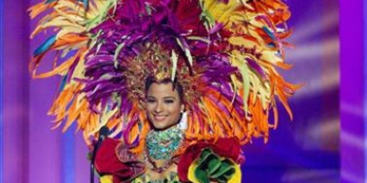 Miss Universo: Así lucieron las candidatas los trajes típicos