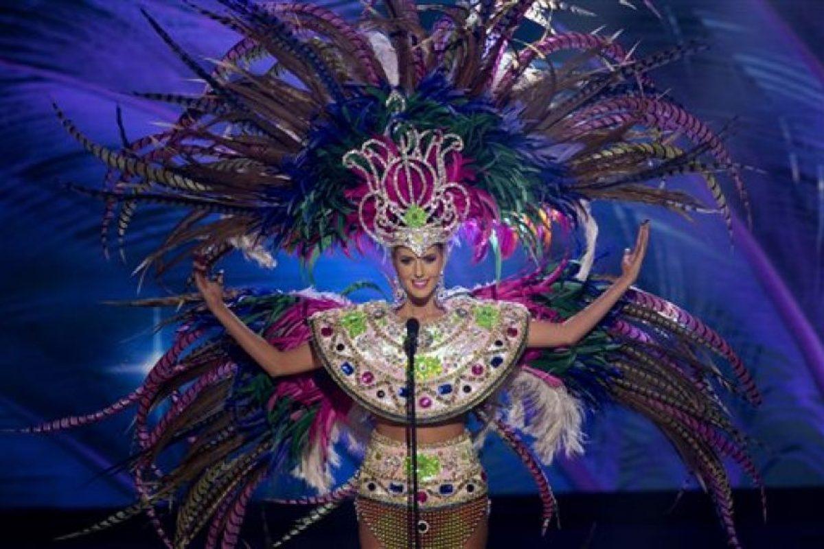 Johana Riva, Miss Uruguay Foto:AP. Imagen Por: