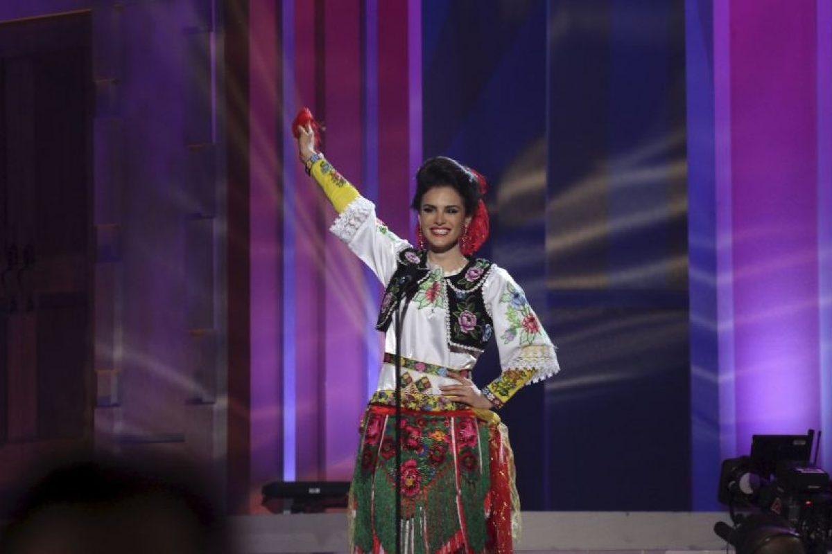 Zhaneta Byberi, Miss Albania Foto:AP. Imagen Por: