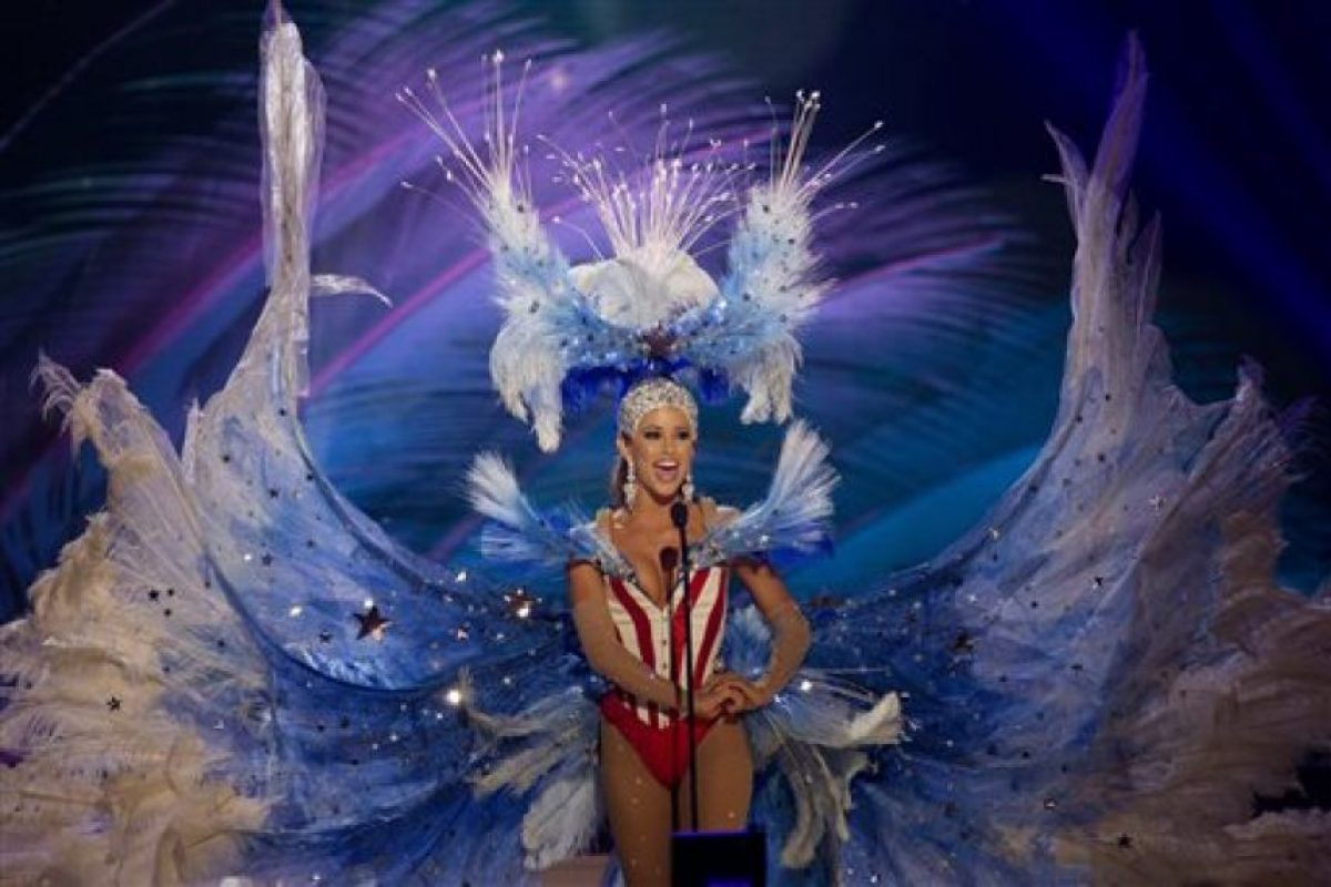 Nia Sanchez, Miss Estados Unidos Foto:AP. Imagen Por: