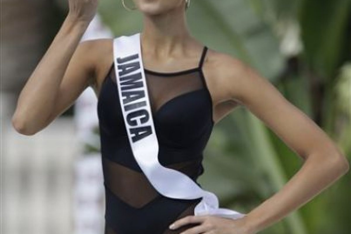 Kaci Fenell, Miss Jamaica Foto:AP. Imagen Por: