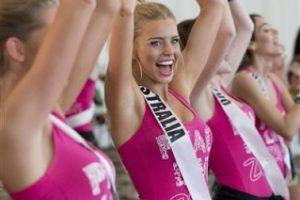 Tegan Martin, Miss Australia Foto:AP. Imagen Por: