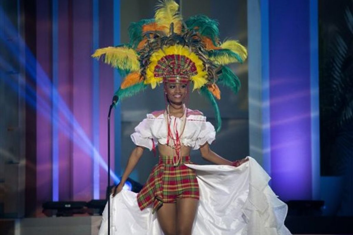 Roxanne Didler-Nicholas, Miss St. Lucia Foto:AP. Imagen Por: