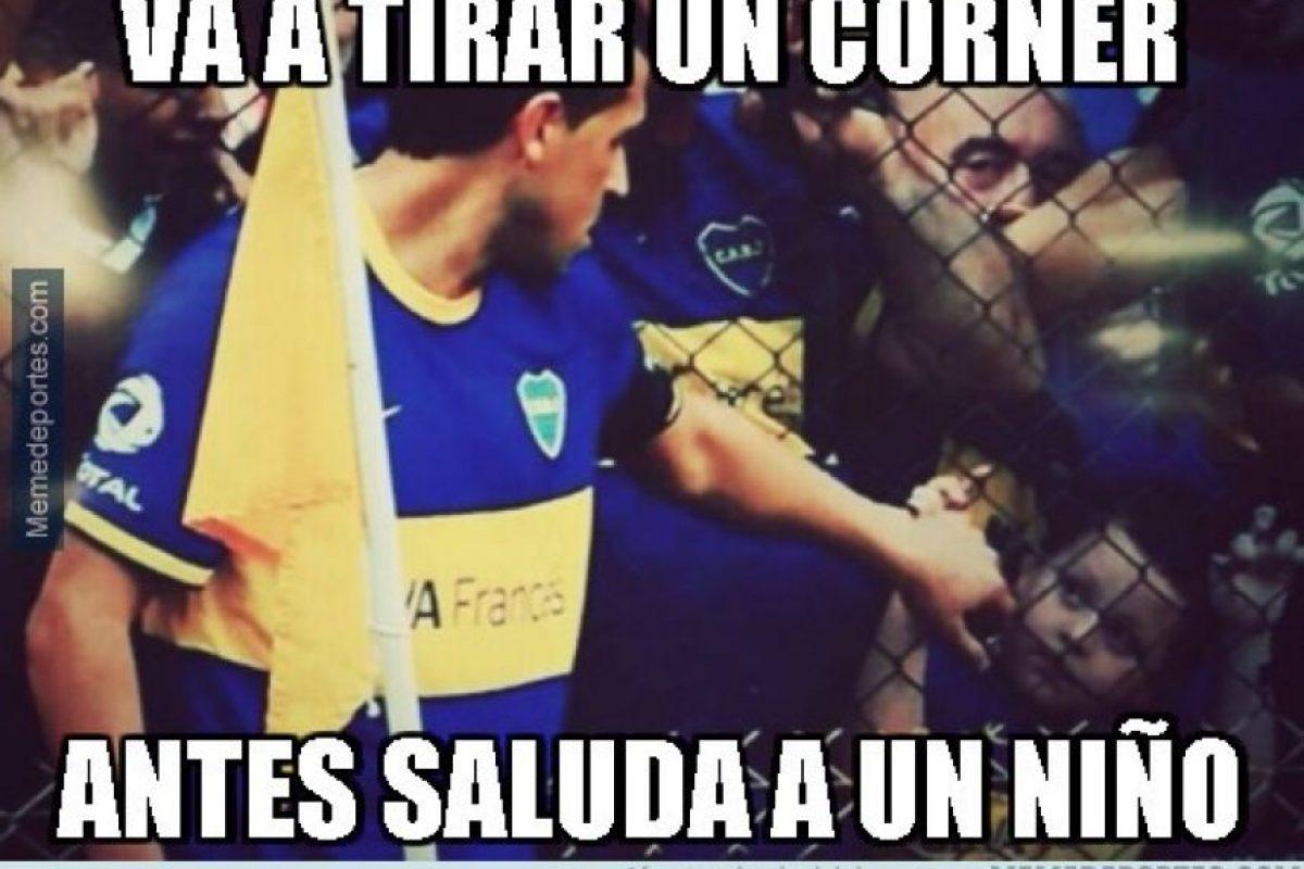 Mira los mejores memes de Román Riquelme: Foto:Twitter. Imagen Por: