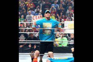 """""""El Marine"""" fracasó en su intento por recuperar el Campeonato de los Pesos Pesados de la WWE Foto:WWE. Imagen Por:"""
