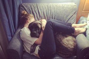 Así vivió la perra Gizelle sus últimos días, al lado de su dueña Lauren Foto:Instagram. Imagen Por: