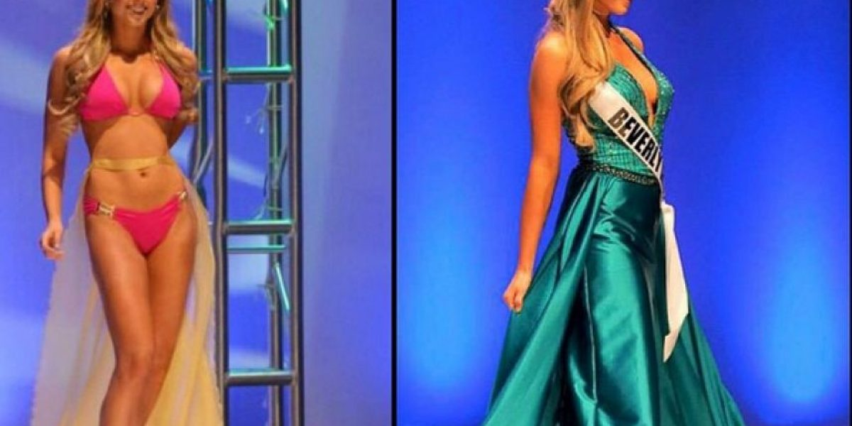 VIDEO: Concursante de Miss USA enseña de más en plena competencia