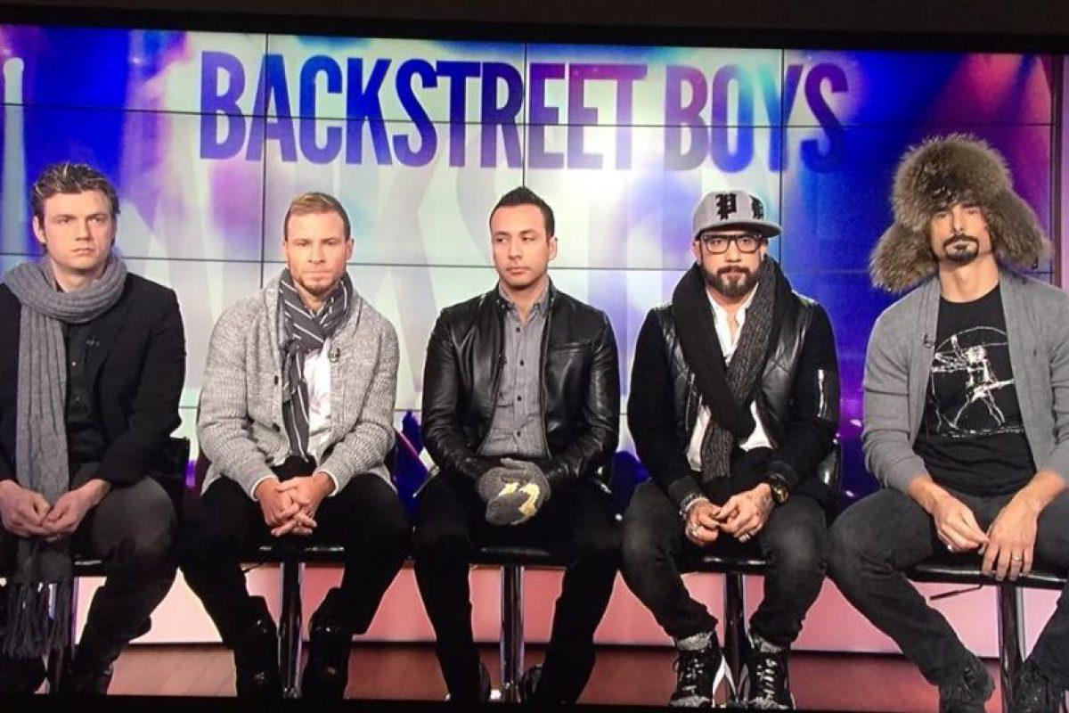 Foto:Facebook/Backstreet Boys. Imagen Por: