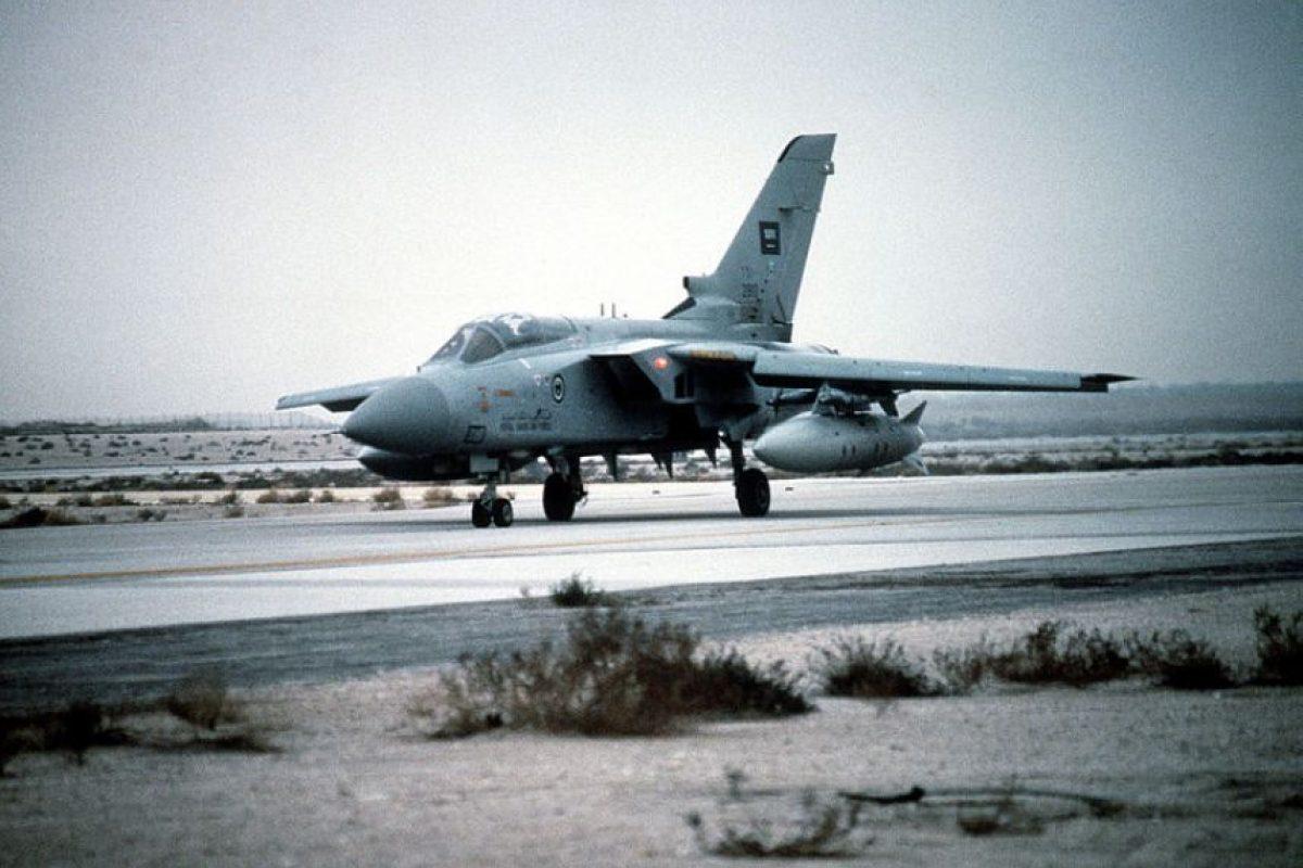 7. Panavia Tornado ADV. Velocidad máxima de Mach 2,27 (2.780,8 km/h) Foto:Wikimedia. Imagen Por: